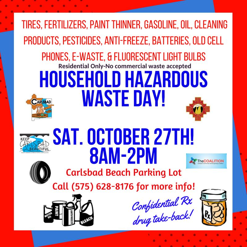 Household Hazardous Waste 10-27-18