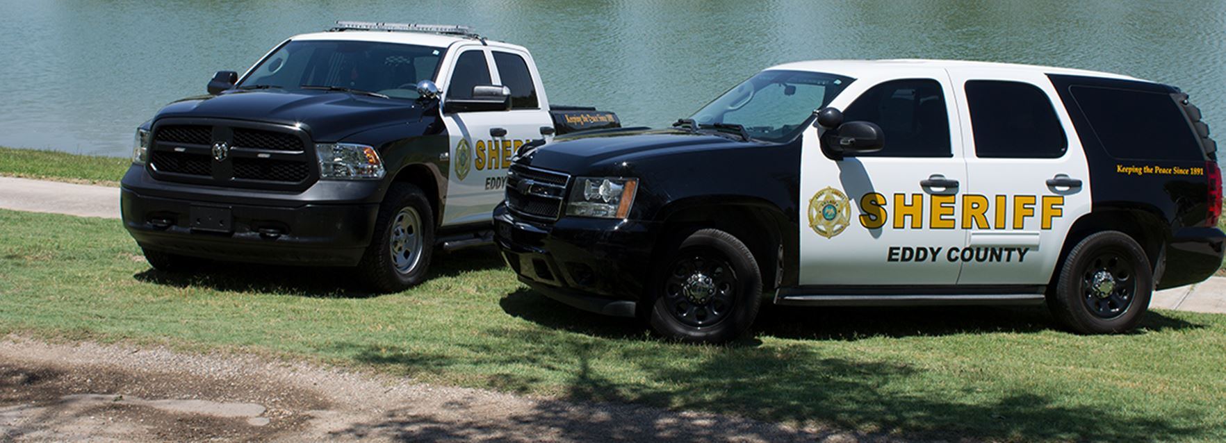 Eddy County Sheriff vehicles