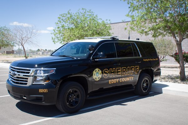 Eddy County Patrol Vehicle - Tahoe